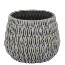 Ceramic bucket Amate, D17cm, H14,5cm, for TO13, bl